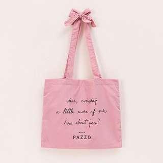 Pazzo 粉色可拆式提袋