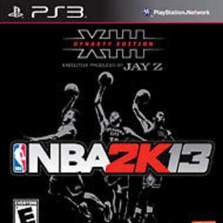 BRAND NEW: NBA 2K13 Dynasty Edition PS3
