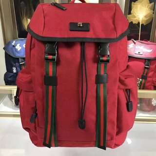 Preorder Gucci tech pack red nylon backpack