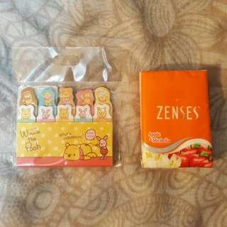 日本Disney Store Winnie the Pooh 便利貼