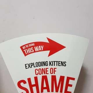 Exploding Kittens Imploding Kittens Cone of Shame