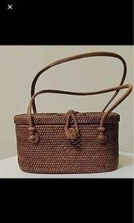 Bali Straw Ladies Handbag