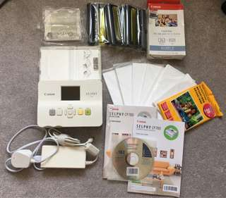 Canon SELPHY CP780 photo printer with over $500 worth of extras!!