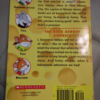 Geronimo Stilton The Race Across America