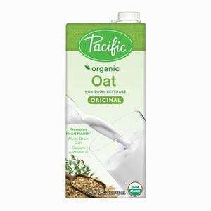 Pacific Natural Food Organic Oat Original Low Fat Non-Dairy Milk, 32 oz