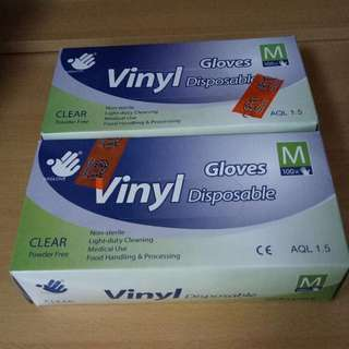 Disposable Gloves (M size)
