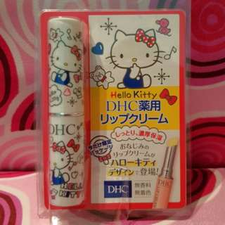 DHC x Hello Kitty lip balm