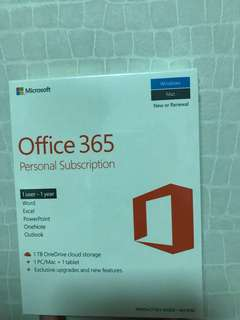 Office 365 (Sealed and BN)