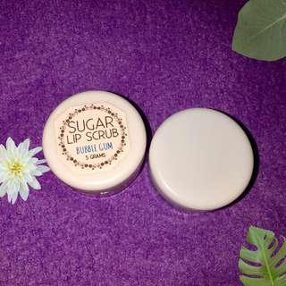 Bubble Gum Set Lip Scrub and Lip Balm (Php70)