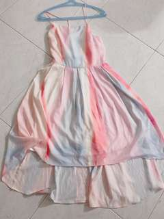 Bnwot Thread theory pastel dress