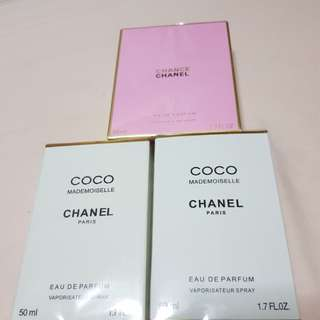 Chanel Coco Mademoiselle & Chanel Chance