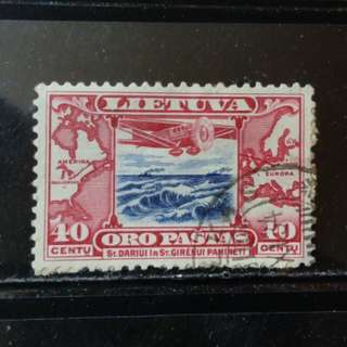 lapyip1230] 立匋苑獨立國 1928年 航空票