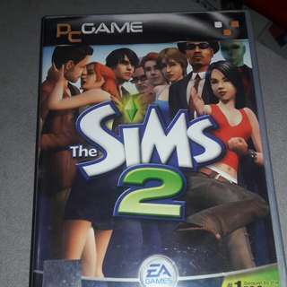 Preloved PC SIMS 2 Games of 4Disc