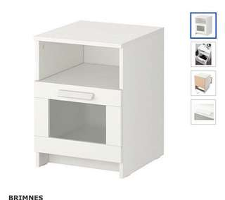 IKEA Brimnes bedside table (brand new in box)