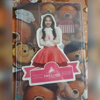 WTT Twiceland dvd Nayeon Standee