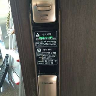 Samsung Push Pull Digital Lock w/installation