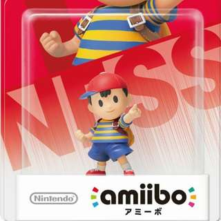 Nintendo Amiibo Super Smash Bros. Series Figure Ness Wii U 3DS
