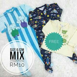 #Bajet20 CLEARANCE SALE Sleepsuit