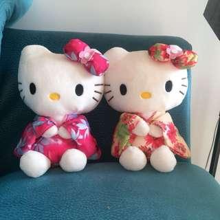 Kimono Hello Kitty Plush Toy