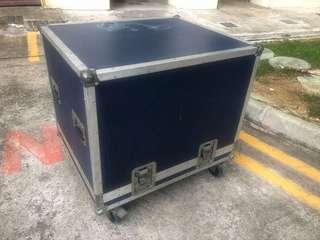 Professional Audio high capacity storage utility flight case box speakers cables transport transportation