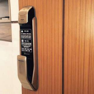 Samsung push & pull digital door lock with instalation