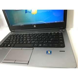 "HP 645 G1 14"" notebook, 4核心, 8GB / 128GB SSD, FullHD"