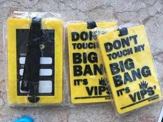 Bigbang自家設計行李牌