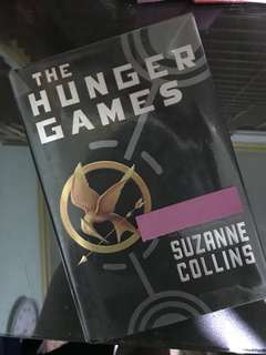 The Hunger Games by Suzanne Collins (hardbound)