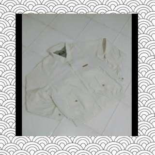 JACKET VANSPORT ORI broken white size L