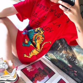 Gucci red tee