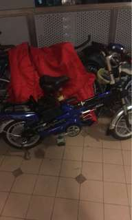 48v blue ebike