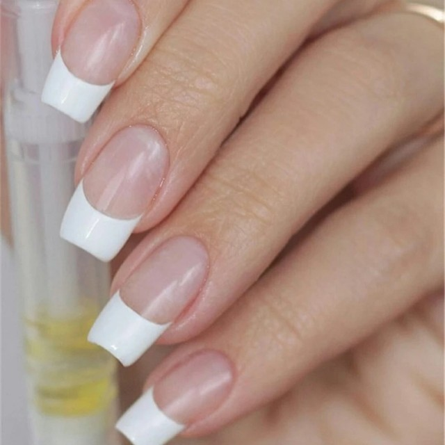 1 Pack French Manicure Tip Guides Strip Nail Art Toes Manicure Nail ...