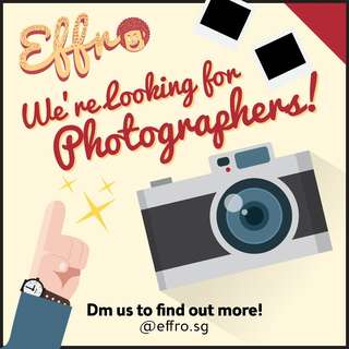 LOOKING FOR FREELANCE PHOTOGRAPHERS