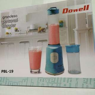 Dowell Personal Blender