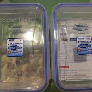 Super Lock lunch boxes