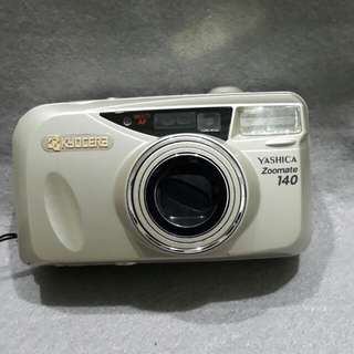 YASHICA ZOOMATE  140  ( WORKING CONDITION , MADE IN JAPAN )