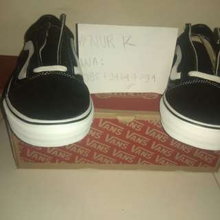 Vans old skool bw black white black and white original