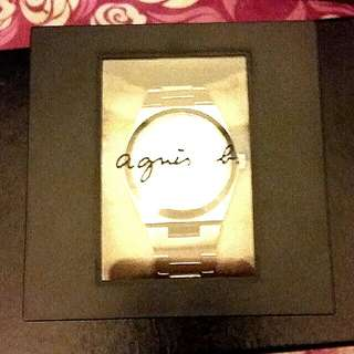 Agnis b 曰曆自動錶(新淨~全套有盒)