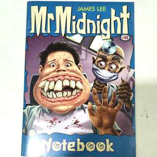 [free with any purchase] Mr Midnight Notebook