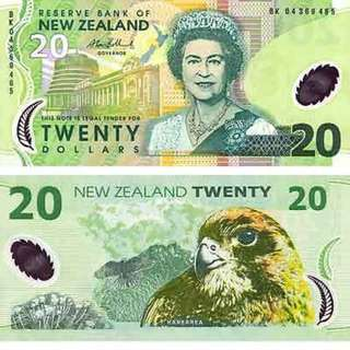 NEW ZEALAND DOLLARS AT GOOD RATES