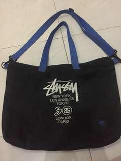 Stussy World Tour shoulder bag