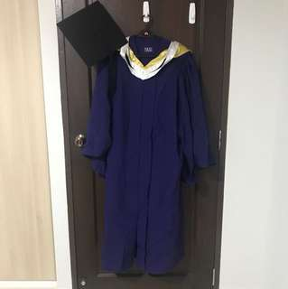 NUS Engineering Graduation gown Size L