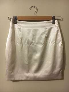 Meshki satin mini skirt size XS