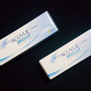 ACUVUE MOIST (1 day soft contact lenses)