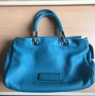 Marc by Marc Jacobs blue bag 手挽袋 手袋