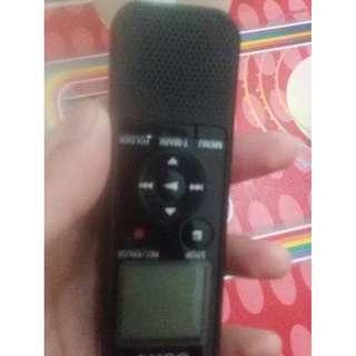 audio recorder sony px440