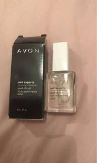 AVON CLEAR NAILPOLISH