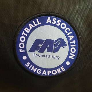 Football Association of Singapore Nike Tarpaulin Duffel Bag