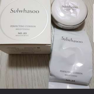 Sulwhasoo Perfecting Cushion Brightening in shade 23