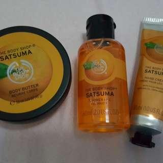 Body Butter, Shower Gel & Hand Cream